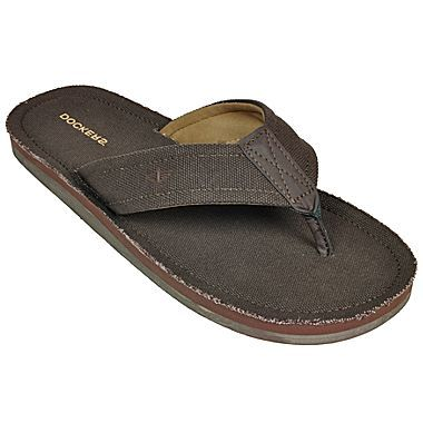 12c7374792d8 Dockers® Mens Canvas Flip Flops - jcpenney