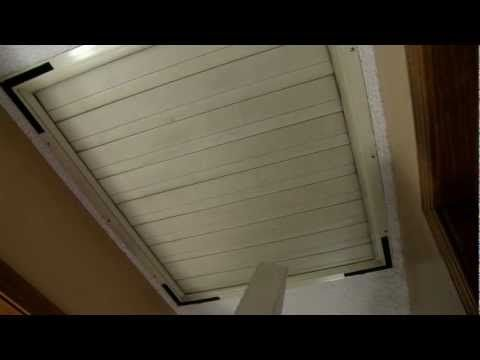 How To Install Whole House Fan/Attic Fan Cover (Air Seal Whole House