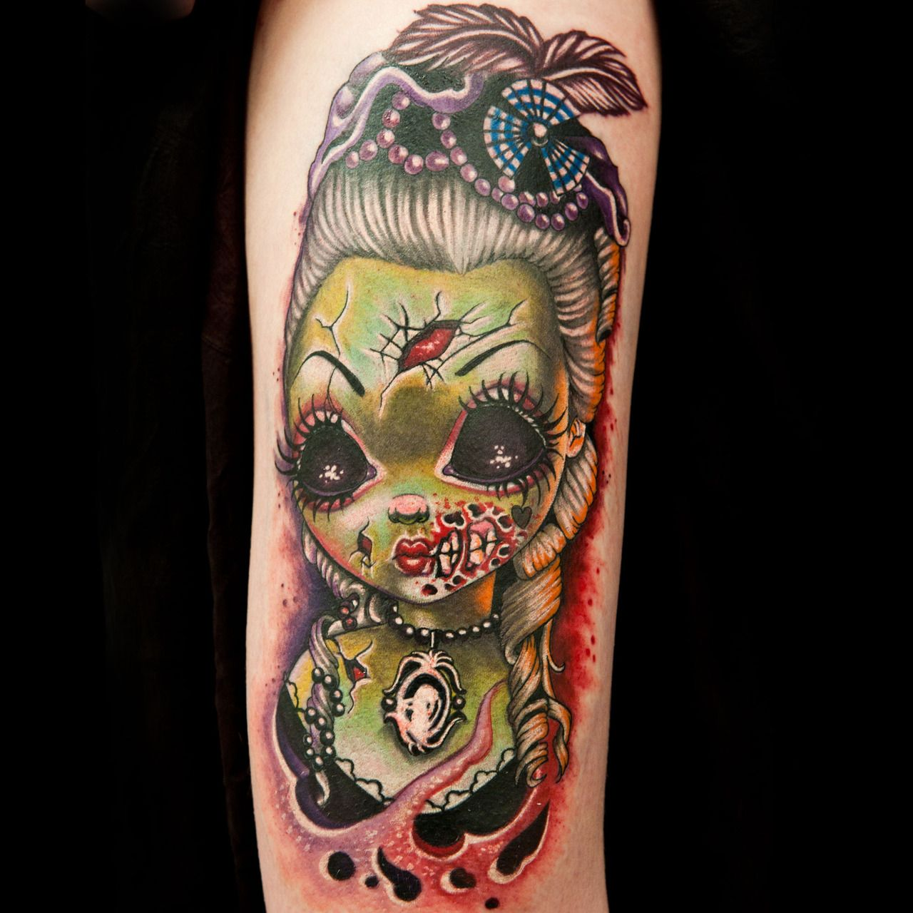 Pin By Yasmine Charo On Ink Ink Master Tattoos Zombie Tattoos
