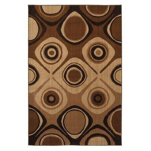 "Kaleidoscope Danger Zone Beige 63""x94"" Rug by MOHAWK. $213.75. Contemporary. Brown. Kaleidoscope. Danger Zone Beige. 63""x94"". There's no danger in being ordinary with this area rug. The bold geometric pattern will stand out in any room. Subtle neutral colors of brown and tan are combined to give this abstract pattern rug a trendy vibe. The retro styling makes it an ideal choice for complementing contemporary decor or adding a splash of modern style to a traditional s..."