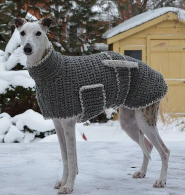Image result for free knitting pattern for large dog sweater ...