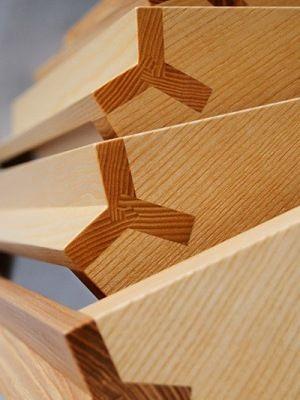 joint detail by Cabinetmaker in Fiskars   Finland   Koivusipilä