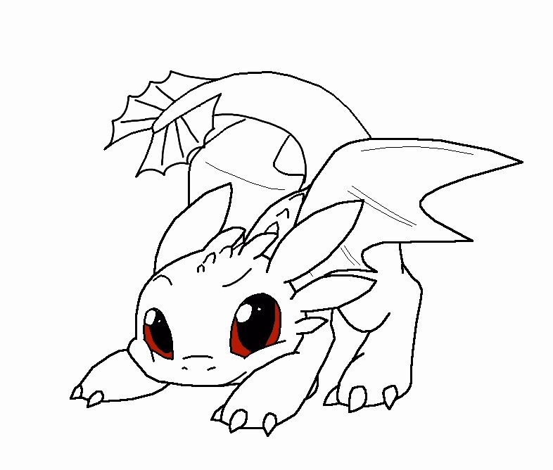Baby Dragon Coloring Page Inspirational Baby Toothless Dragon Coloring Pages Coloring Home In 2020 Baby Dragons Drawing Dragon Coloring Page Cartoon Dragon