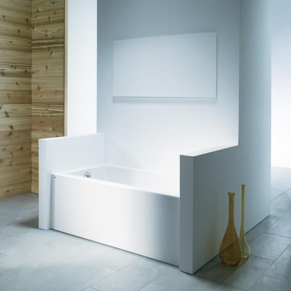 Hytec Wellbrook Bathtub with Integral Apron | Bathtubs and Showers ...