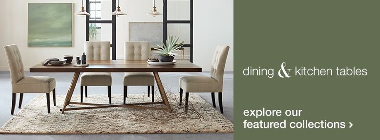 Save Up to 40* on Dining Tables