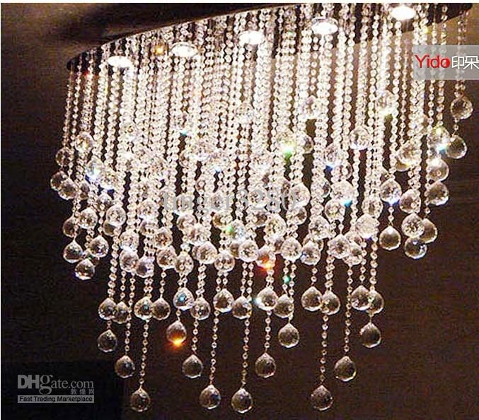 crystal Lamps lighting the oval shape crystal lamp chandelier lamp