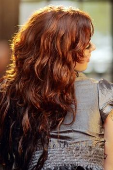 Red Hair With Lowlights And Highlights