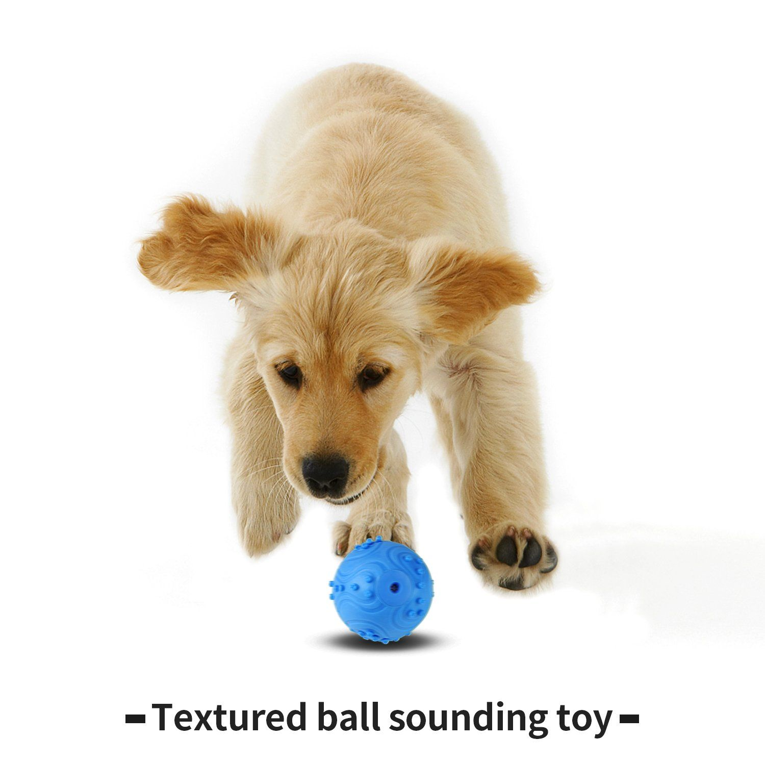 Airsspu Dog Toys Balls Iq Treat Ball Rubber Dog Chew Toy Dog Toys Best For Puppy And Small Medium Dogs Increases Iq And Men Dog Toy Ball Dog Toys Medium Dogs