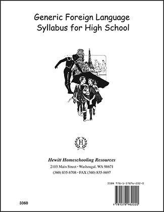 Grade /912/...Foreign Language Syllabus Generic. Hewitt