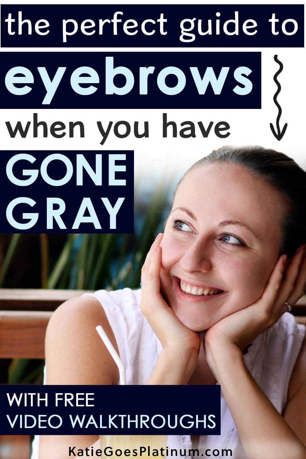 Got Gray Hair? Here's How to Make Your Eyebrows Look Their ...