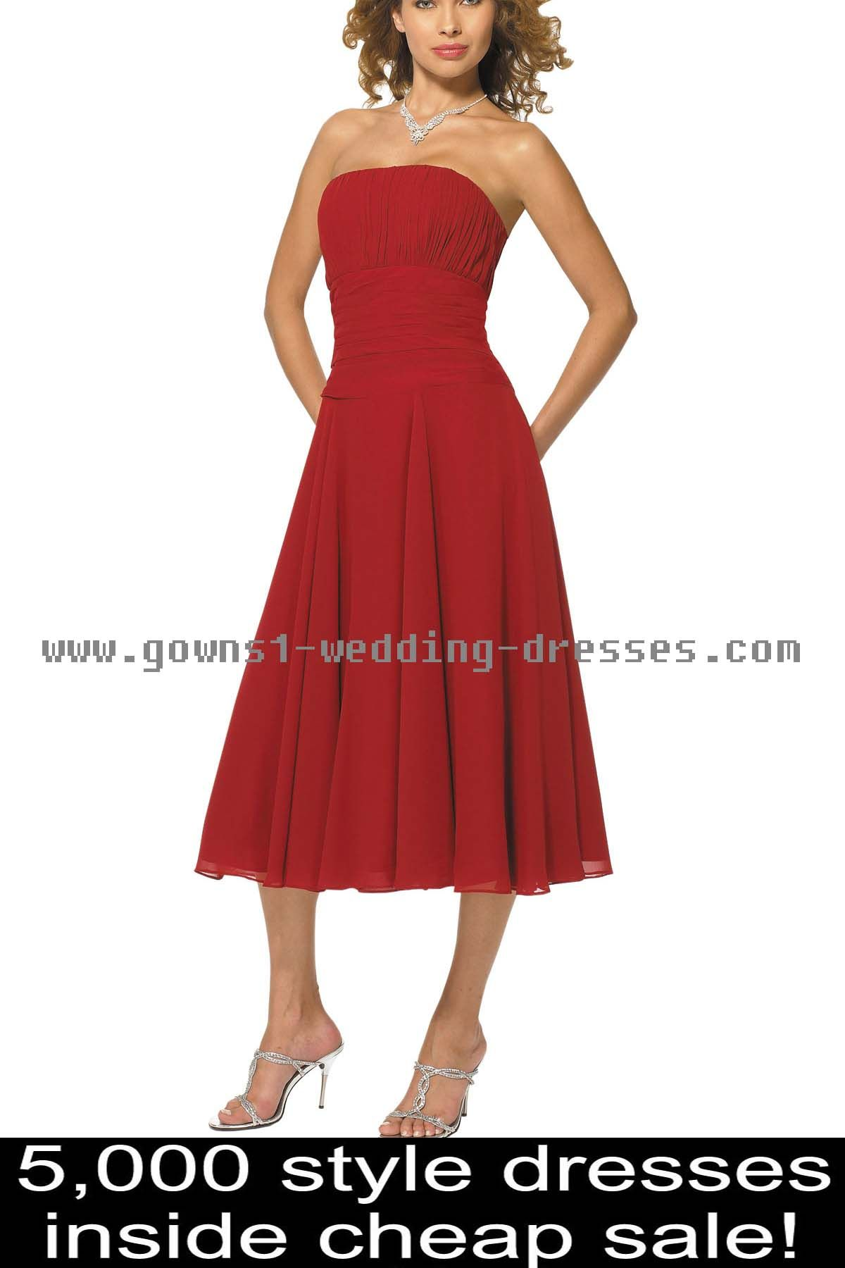 Casual mother of the groom dresses for outdoor wedding  Black And Red Summer Bridesmaid Dresses  Bridesmaid Dresses