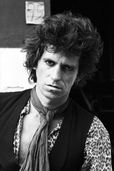 Keith Richards, 1980's