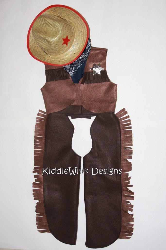 cf67dc30d8a Complete cowboy costume - chaps