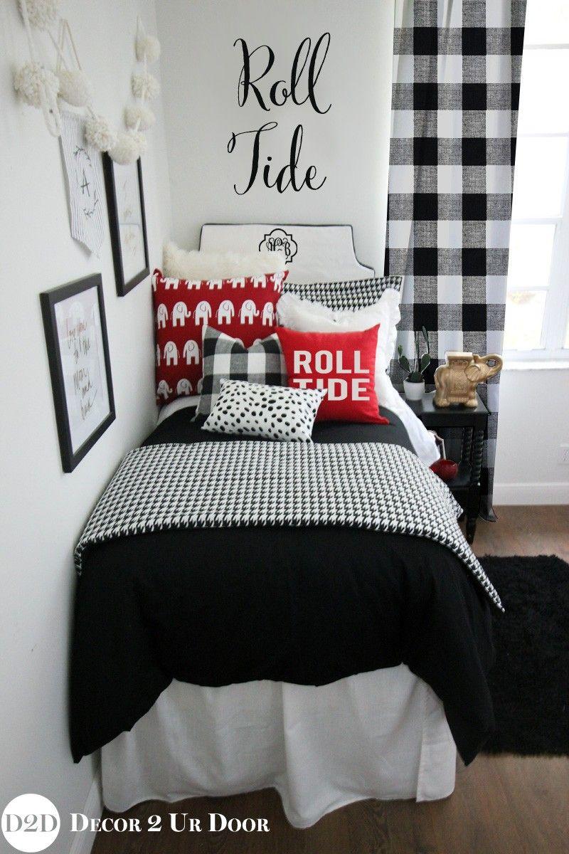 University of Alabama {UA} Crimson Roll Tide Designer Dorm Bedding ...