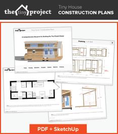 Modern tiny houses floor plans