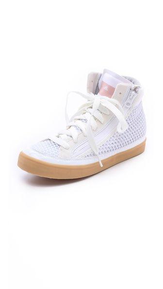 adidas by Stella McCartney Stella Casual Mesh High Top Sneakers