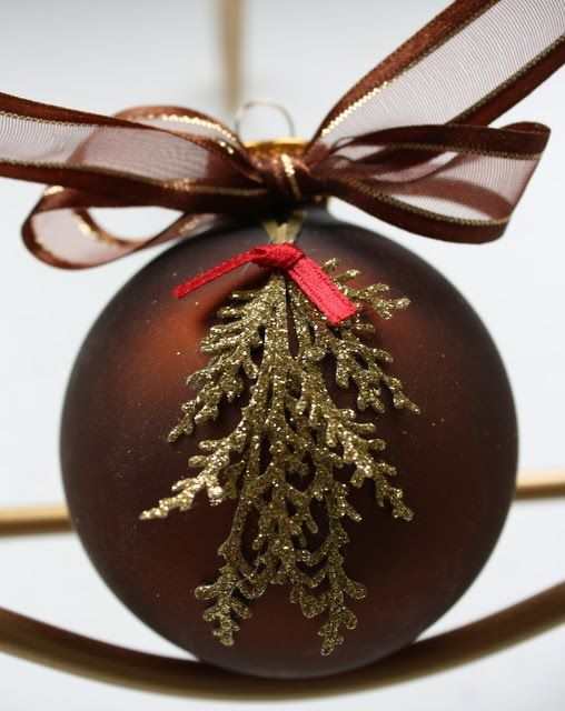 each year my sister and i exchange christmas ornaments - Christmas Decorations Pinterest Handmade