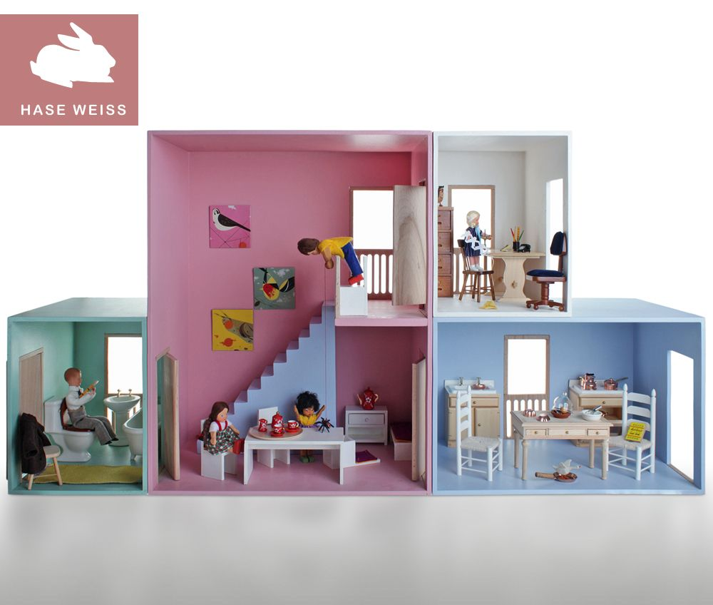 Puppenhaus 5-teilig | Puppenhäuser usw | Pinterest | Puppenstube ...