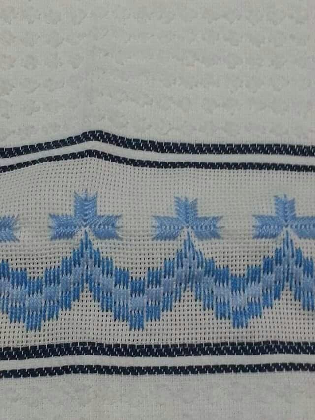 Bordados | Swedish or Huck weaving ideas and patterns | Pinterest ...