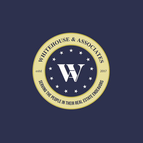 Whitehouse Associates New Whitehouse Logo We Are A Real Estate Team Our Target Audience Is Home Buyers And Sellers Typography Logo Logo Design Simple Logo
