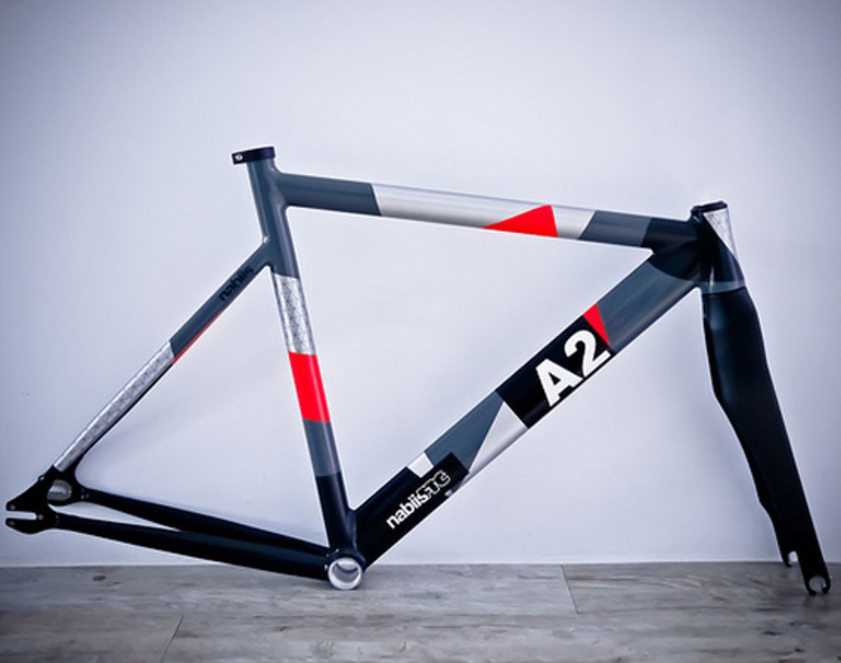 Nabiis X Ftc A2 Fixed Gear Bicycle Frame With Images Bicycle