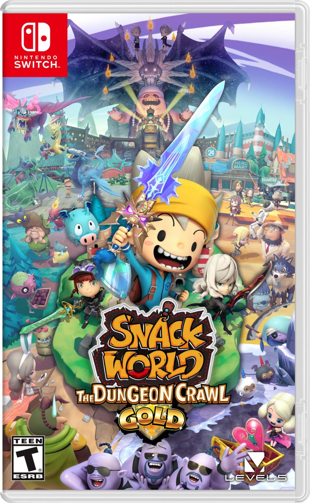 Snack World The Dungeon Crawl Gold Nintendo Switch Gamestop In 2020 Nintendo Switch Games Nintendo Switch Nintendo