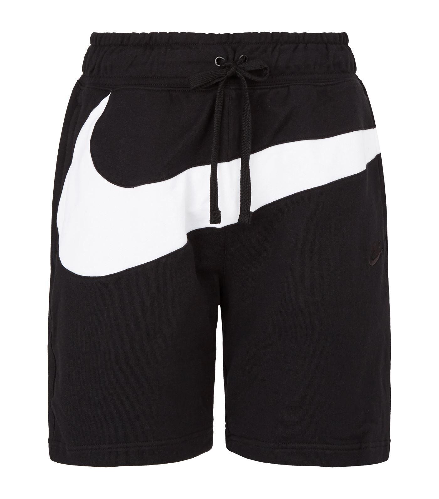 Nike Swoosh Sweat Shorts In Black | ModeSens | Black shorts ...