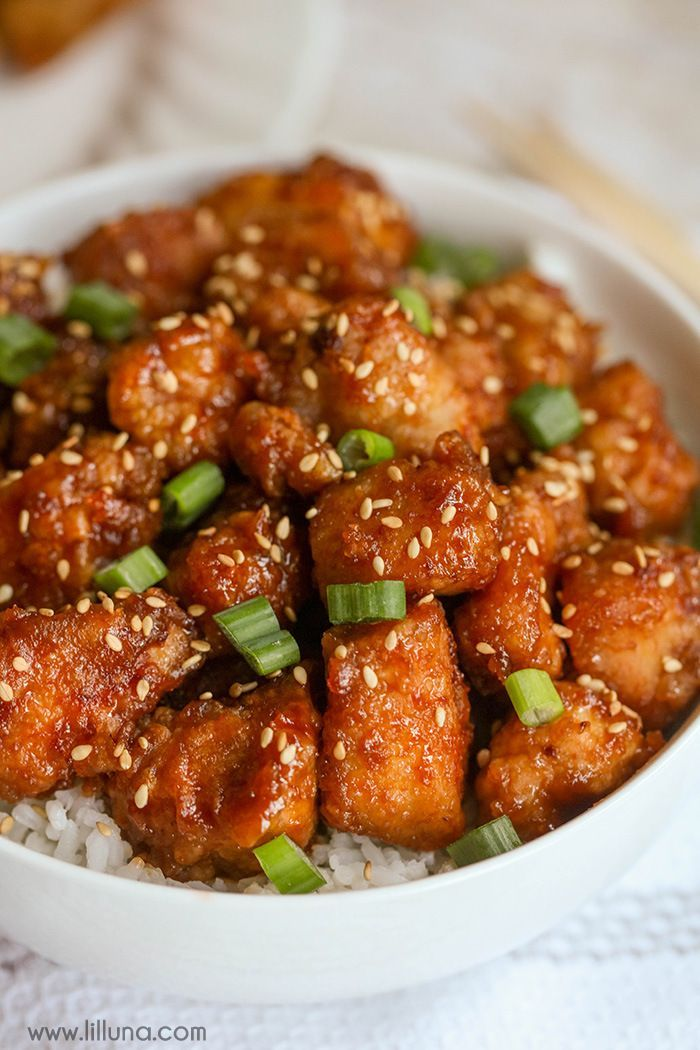 Honey sesame seed chicken recipe honey sesame chicken sesame honey sesame chicken this is one of our favorite dinner recipes its easy forumfinder Images