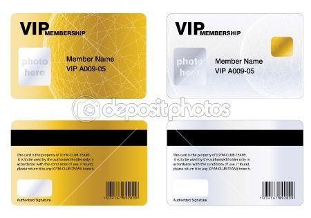 Vip Membership Card By Nabeel Zytoon  Card    Vector