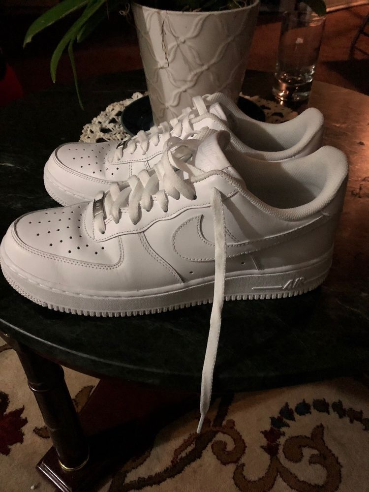 online store b1803 5ad73 Men s NIKE AIR FORCE 1 Size 10 All White 315122-111 From 2 06 18  fashion   clothing  shoes  accessories  mensshoes  athleticshoes (ebay link)