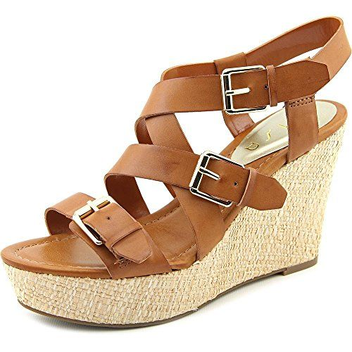 Unisa Lihby Women US 11 Brown Wedge Sandal ** View the item in details by clicking the image