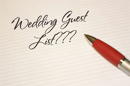 No BList Finalizing Your Guest List  Sticking To It  Guest