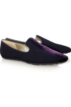 4435181c1c Jimmy Choo Wheel velvet loafers $495 | Designer Shoes & Boots ...