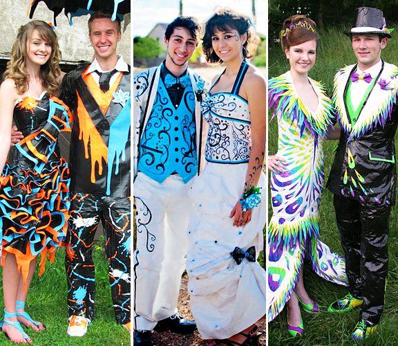Prom Dress Made Out of Duct Tape_Other dresses_dressesss