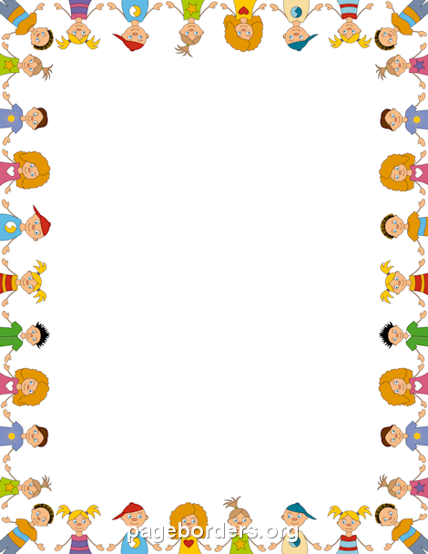 Children Border | Eğitim - Education | Page borders, Clip ...