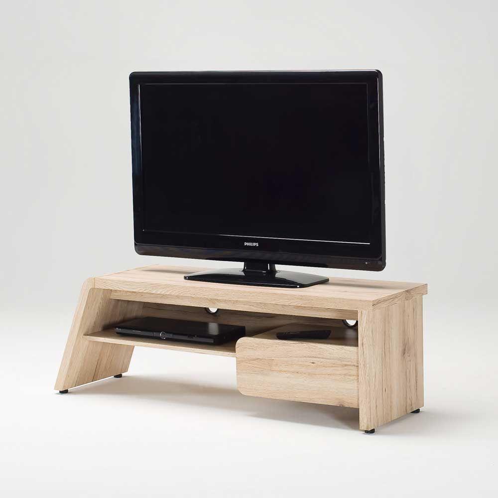 Schön Tv Tisch Sammlung Von In Eiche Hell 130 Cm Breit Jetzt