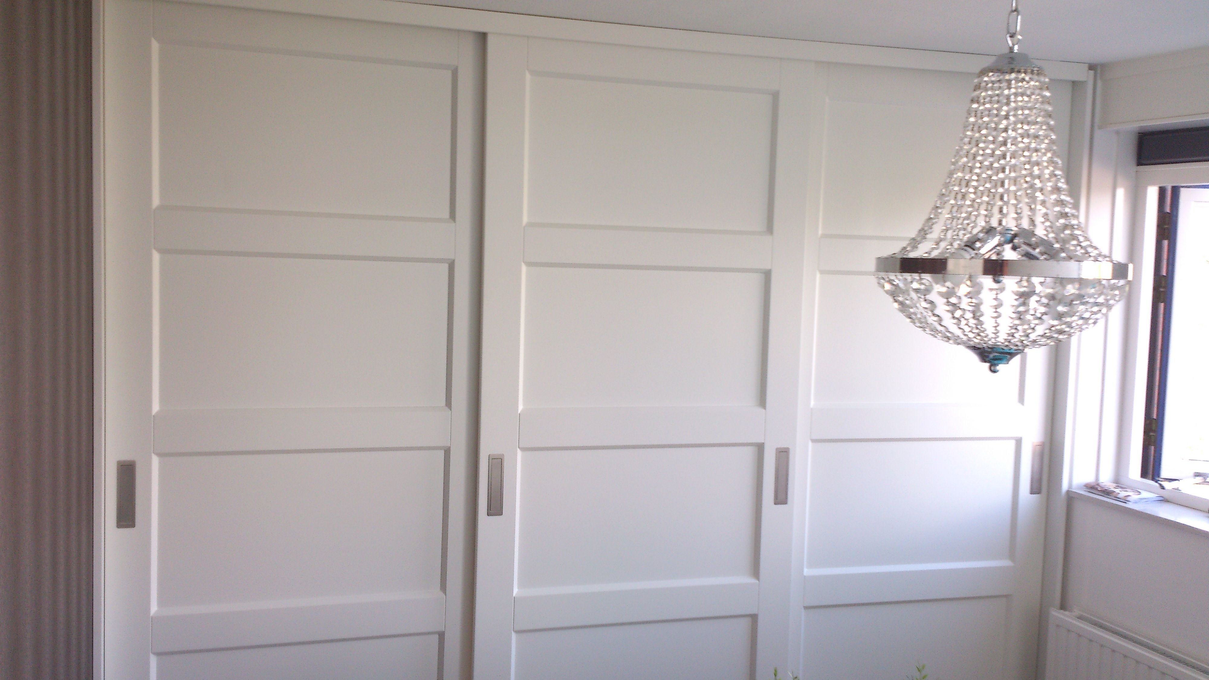 inbouwkast schuifdeuren | Slaapkamer | Pinterest | Closet doors ...