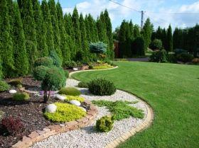 Projekt Ogrodu Przed Domem Szukaj W Google Garden Pinterest
