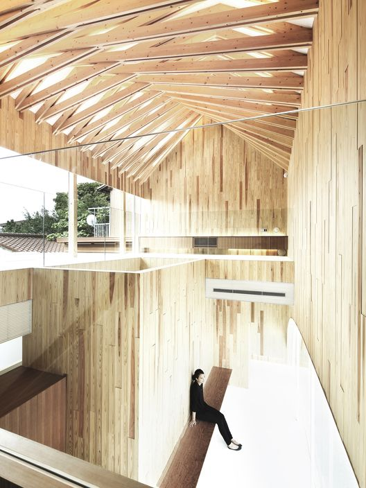 Study Shows That Timber Buildings Cost Less To Build Timber Architecture Timber Buildings Architecture