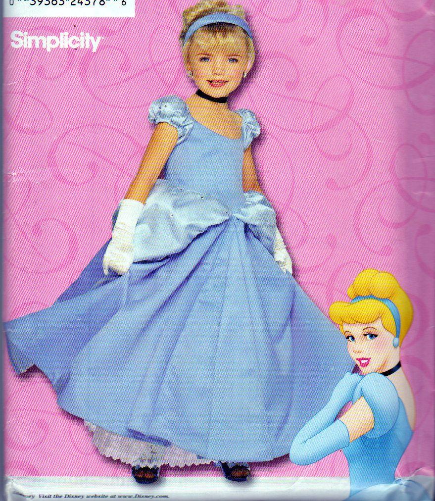 Girls Disney Cinderella Dress ,Long Cinderella Gown ...