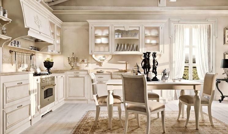 Cucine classiche di lusso con cucine classiche bianche legno