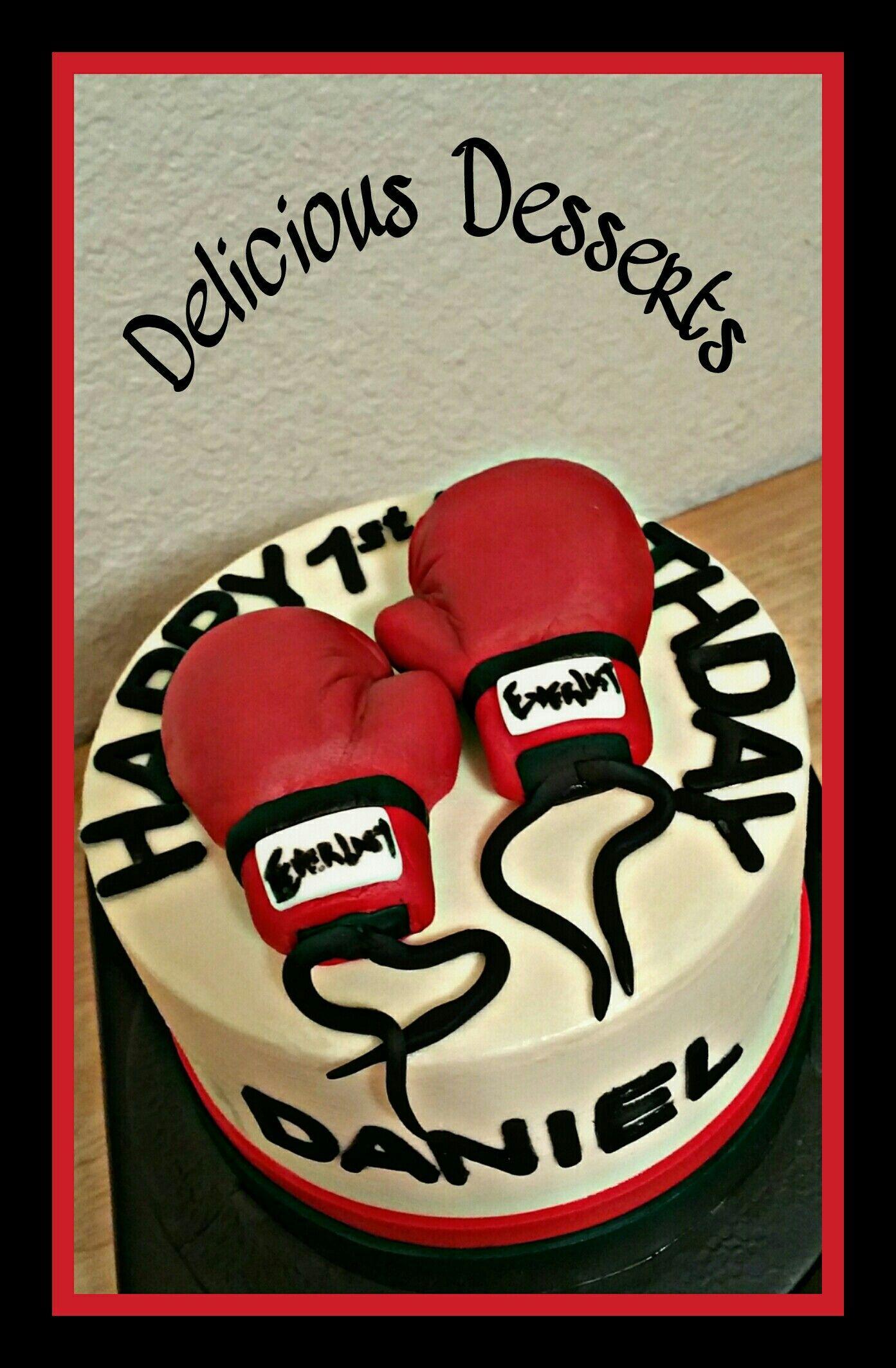Terrific Boxing Theme Cake Small Birthday Cakes Themed Cakes Birthday Funny Birthday Cards Online Alyptdamsfinfo