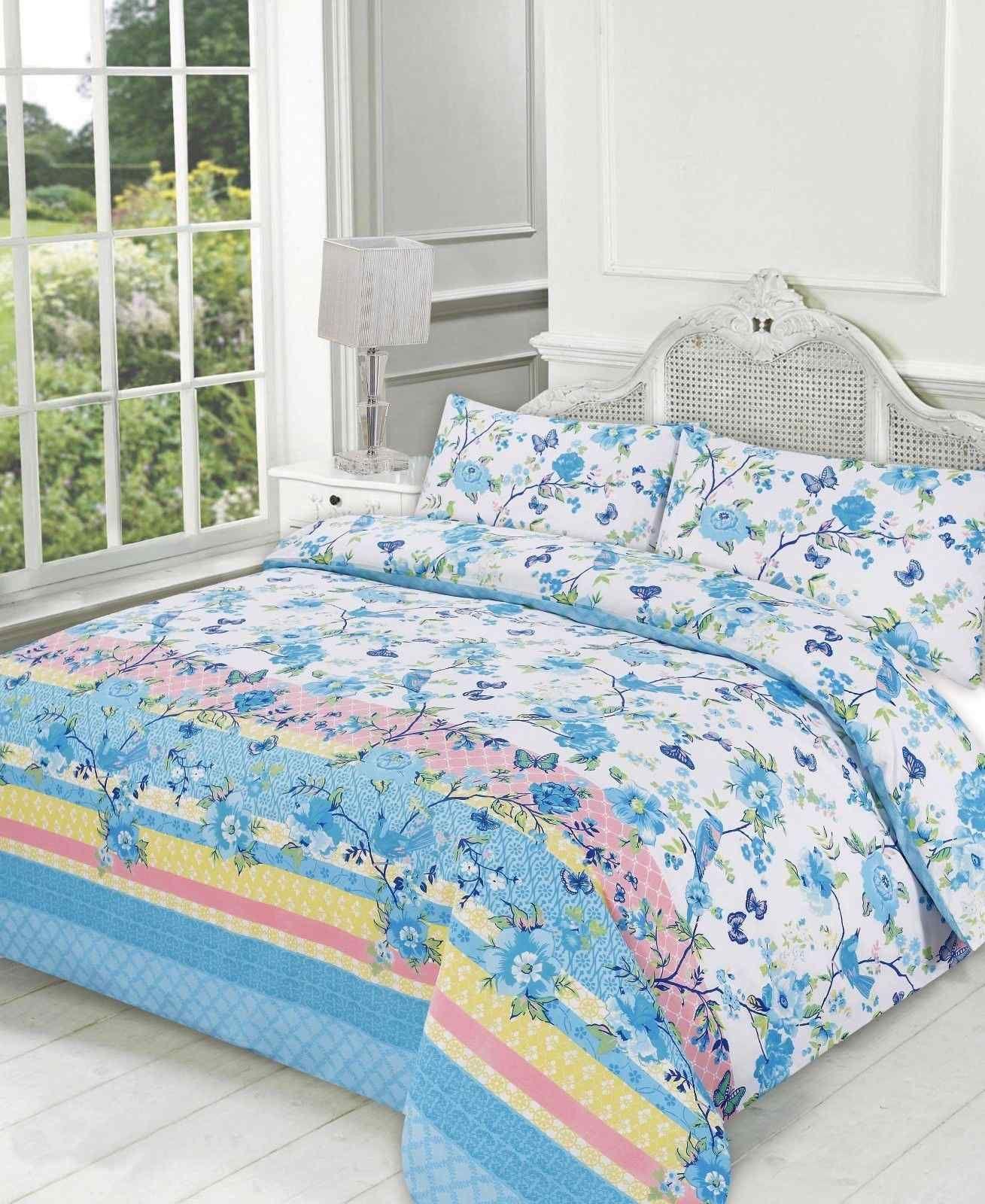 blossom printed duvet quilt