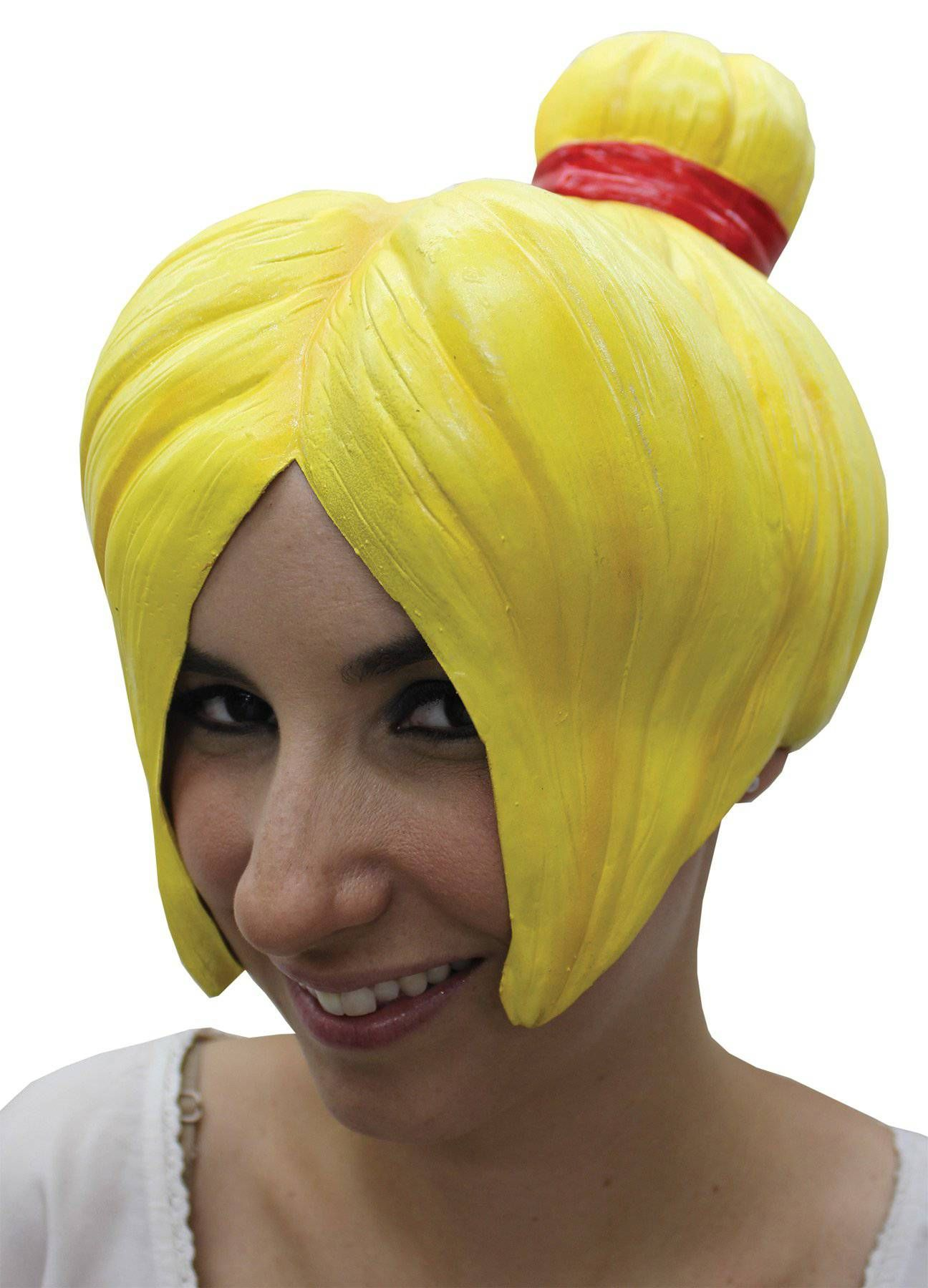 Photo of Anime Theme Party Fancy Accessory Latex Wig – Adult One Size / Yellow