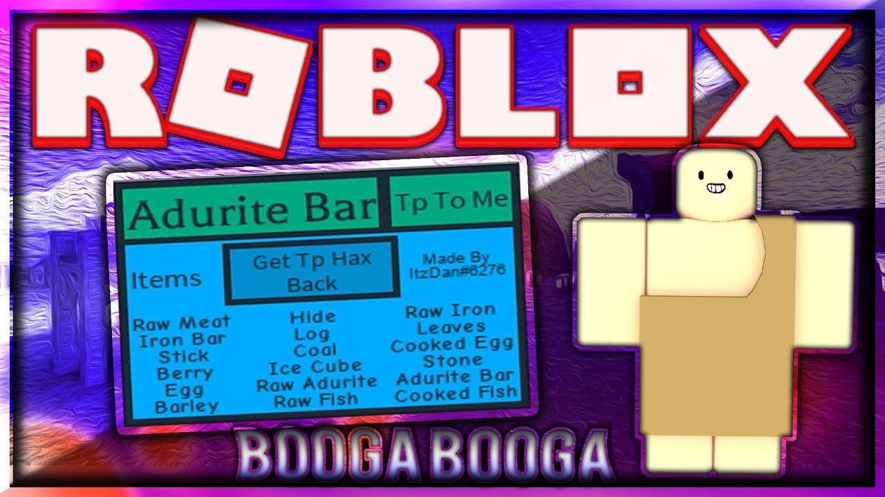 Roblox Booga Booga How To Get Adurite Pin On Eoelo