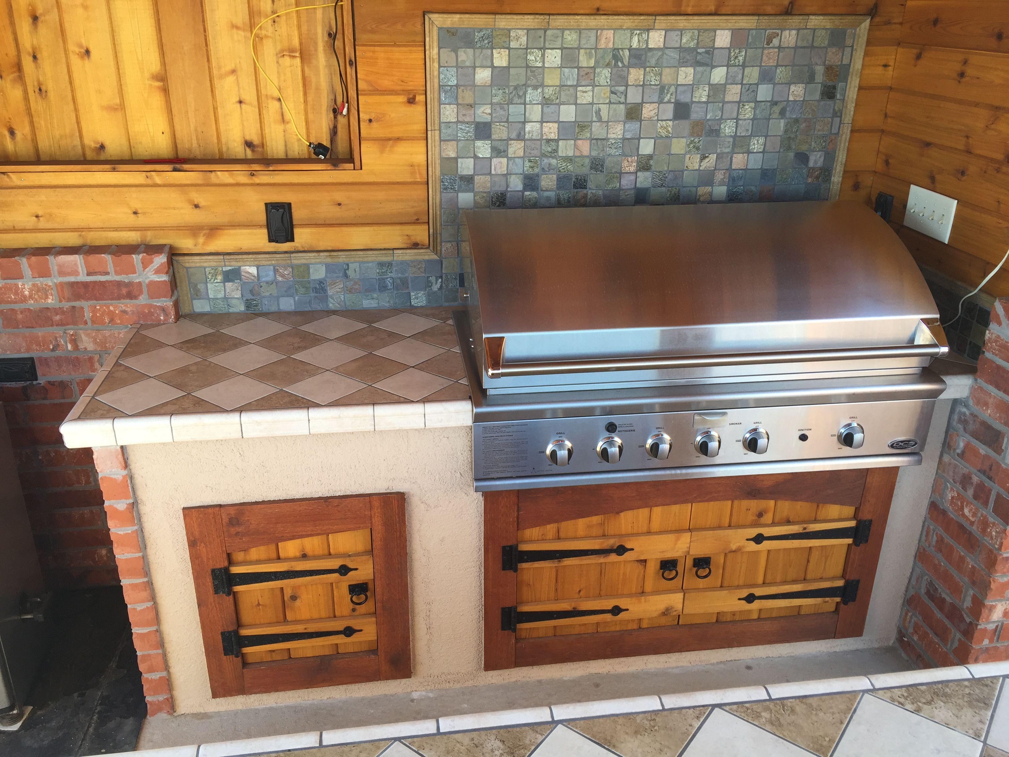 Cedar Kitchen Cabinet Doors Outdoor Kitchen DIY project Cedar by Ricky. Custom cabidoors