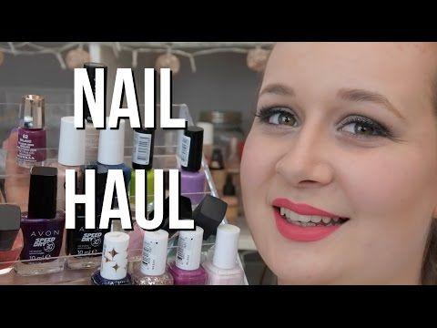 Nail Product Haul! | Storage, Nail Art, Nail Stamping, Nail Care... - http://www.nailtech6.com/nail-product-haul-storage-nail-art-nail-stamping-nail-care/