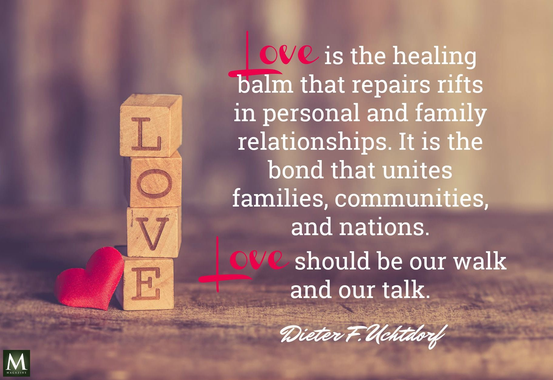 Love Is The Healing Balm That Repairs Rifts In Personal And Family Relationships It Is The Bond That Unites Famili Healing Balm Family Relationships The Balm