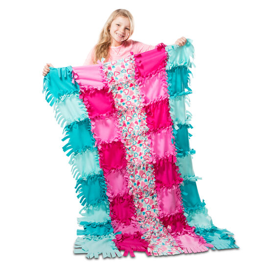 Photo of Created by Me! Heart Fleece Blanket