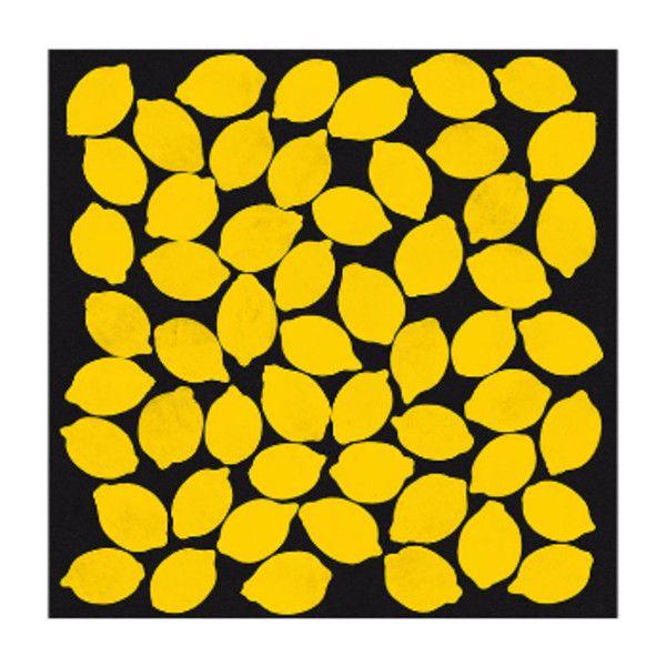 Lemon 1 Fruit A1 Framed Print (195 CAD) ❤ liked on Polyvore ...
